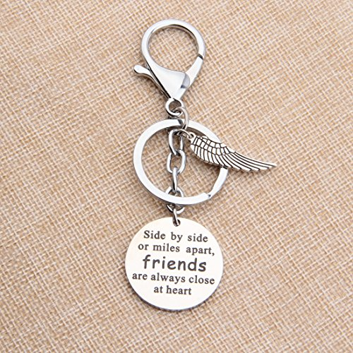 Kuiyai Hand Stamped Love Quote Best Friends Necklace With Pinky